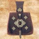 Birka-Bag of Vikings, rich fittings - black