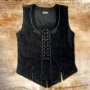 Vest 13 made from real velvet