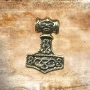 Thors Hammer Face 3 Silver