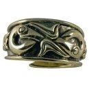 Viking Ring 26, adjustable 60-70 Bronze