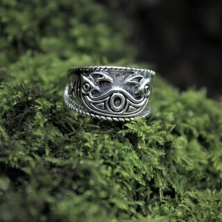 Odins Ring 27, adjustable - 60-70 silver