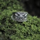 Odins Ring 27, adjustable - 60-70 silver