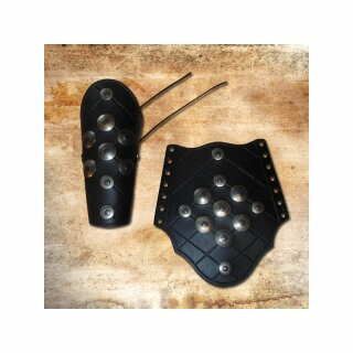 Armoured Bracer - black