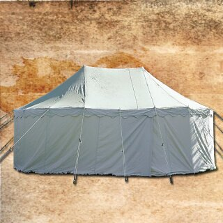 Two Mast Tent 180 Thodin with wooden tent frame