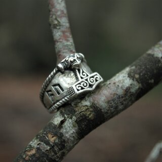 Schonen Hammer Ring 30 - 52-60, bronze