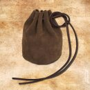 Leather pouch, large