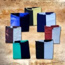 Coat of arms made of cotton XXL, black-blue