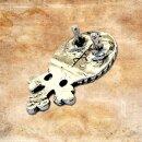 Mittelalterliches Riemenende für 2 cm Gürtel