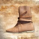 Haithabu Boots, suede leather, with leather soles