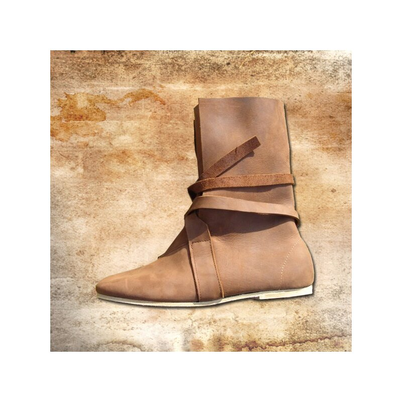 b211c43af813 Haithabu Stiefel, Nubukleder, mit Ledersohle, 130,00 €