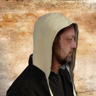 Cotton Hood - L/XL, brown