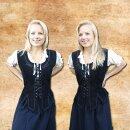 Damenweste aus Leder - S, schwarz
