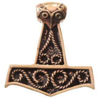 Anhänger Thors Hammer - Bronze