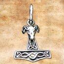 Anhänger Widder Hammer, klein - Silber 925