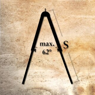 Splitted Mast, adjustable