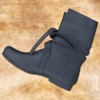 Haithabu Boots, Nubuk leather, rubber soles - 39, brown