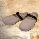 Wooden Shoes with leather strap - 46