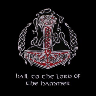 T-Shirt Hail to the Lord of the Hammer - L