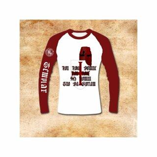 Longsleeve-Shirt Tempelritter - XXL