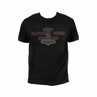 T-Shirt Natural Born Heathen - S