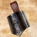 Decorated Weapon Holder LARP brown