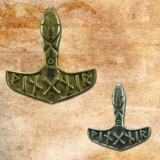 Thors Hammer 27 - Silber/silver