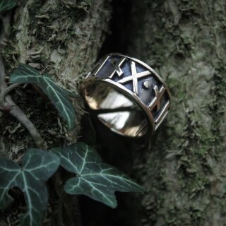 Runenring 32 Thor - Bronze 60-70