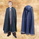 Woolen cloak with metal buckle & with bordure