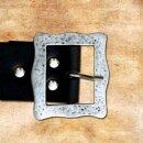 Lansquenet Belt, 5 cm - black, M, bronze