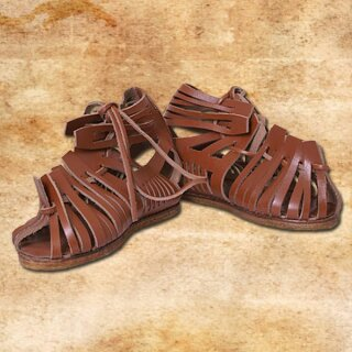 Roman Sandals, Caligae, brown