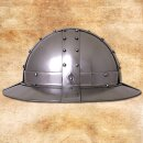 Iron Hat with Banded Fittings, 2mm Steel, Size L