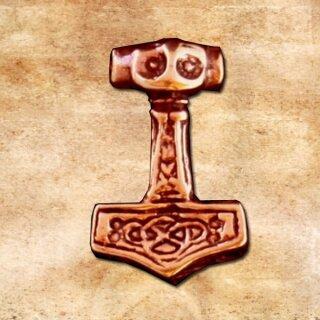 Pendant Mjolnir Thorshammer - bronze